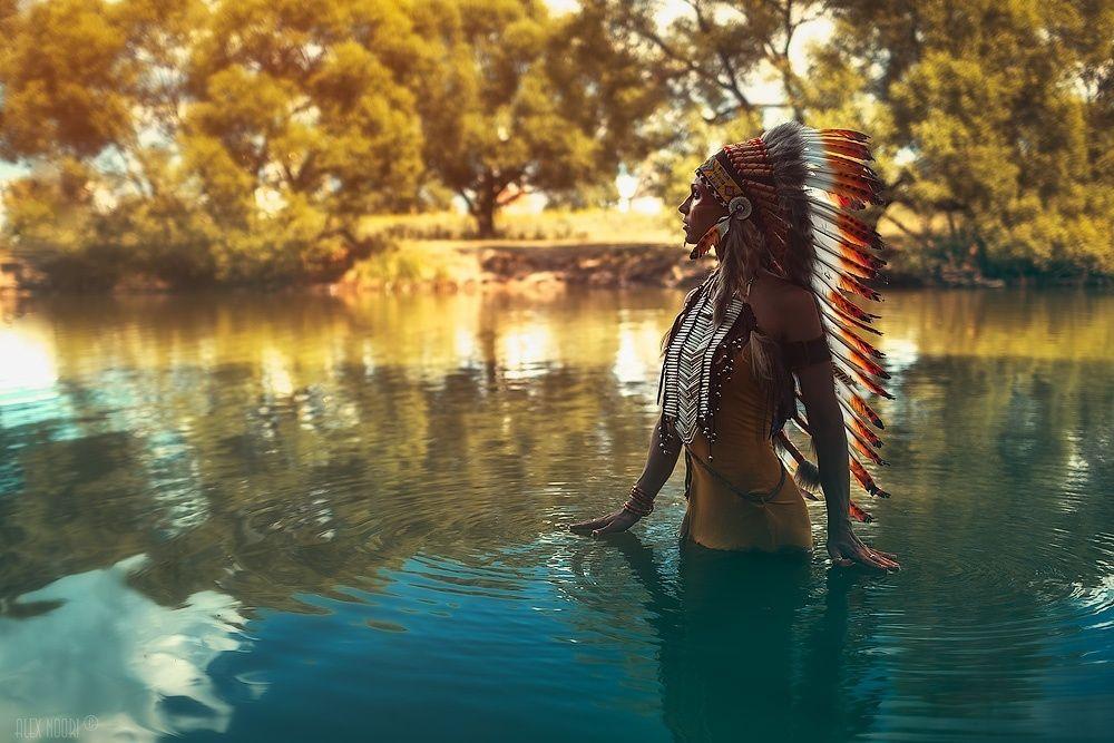 Как индейцы американцев послали