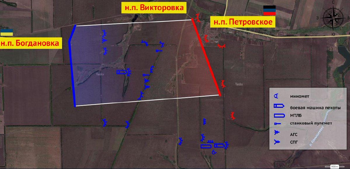 Продвижение ВСУ в районе Петровского