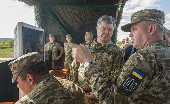 На Украине система управления войсками «защищена» примитивными паролями