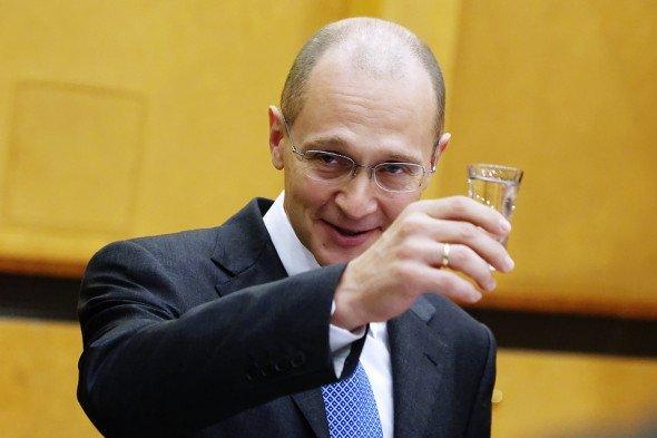 Сергей Кириенко затевает большой передел России