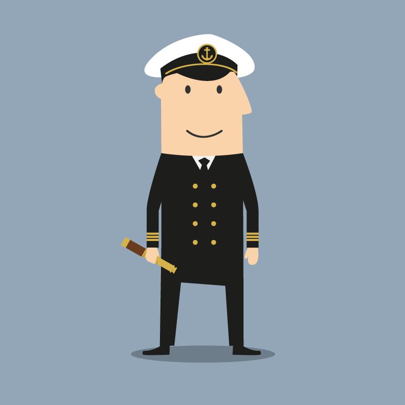 Анекдот про то, как бывалый капитан давал советы молодому