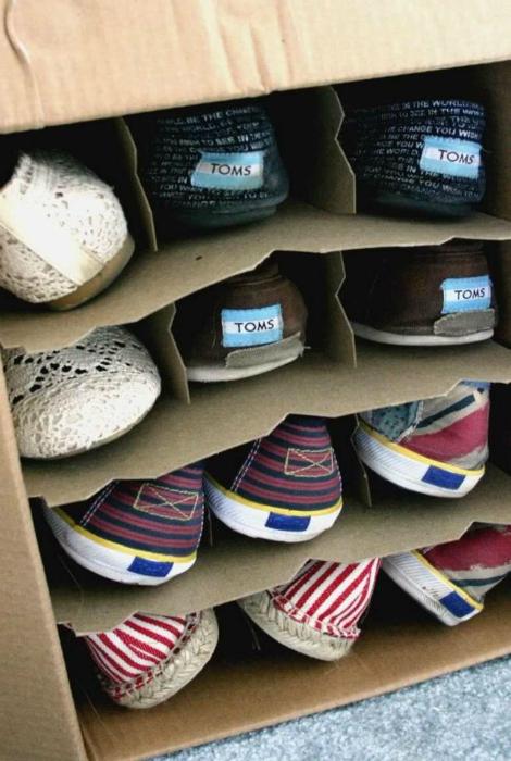 Коробка для обуви.