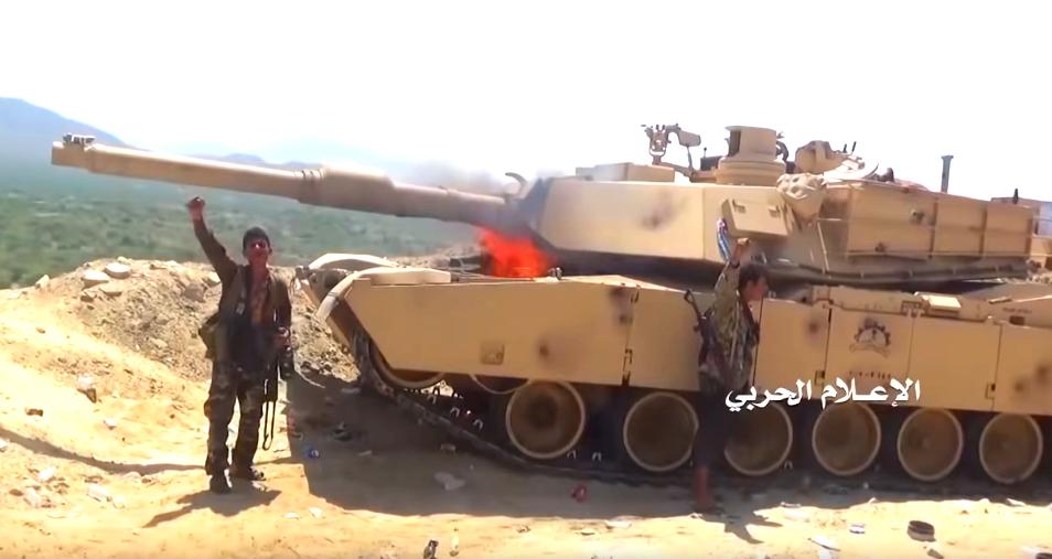Видео уничтожения танка Abrams в Йемене попало в Сеть