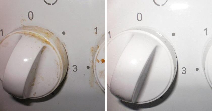 Как легко очистить ручки плиты. Тебе понадобится 1 бюджетное аптечное средство