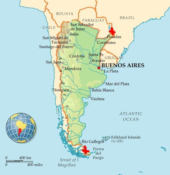 США развернут военные базы в Аргентине