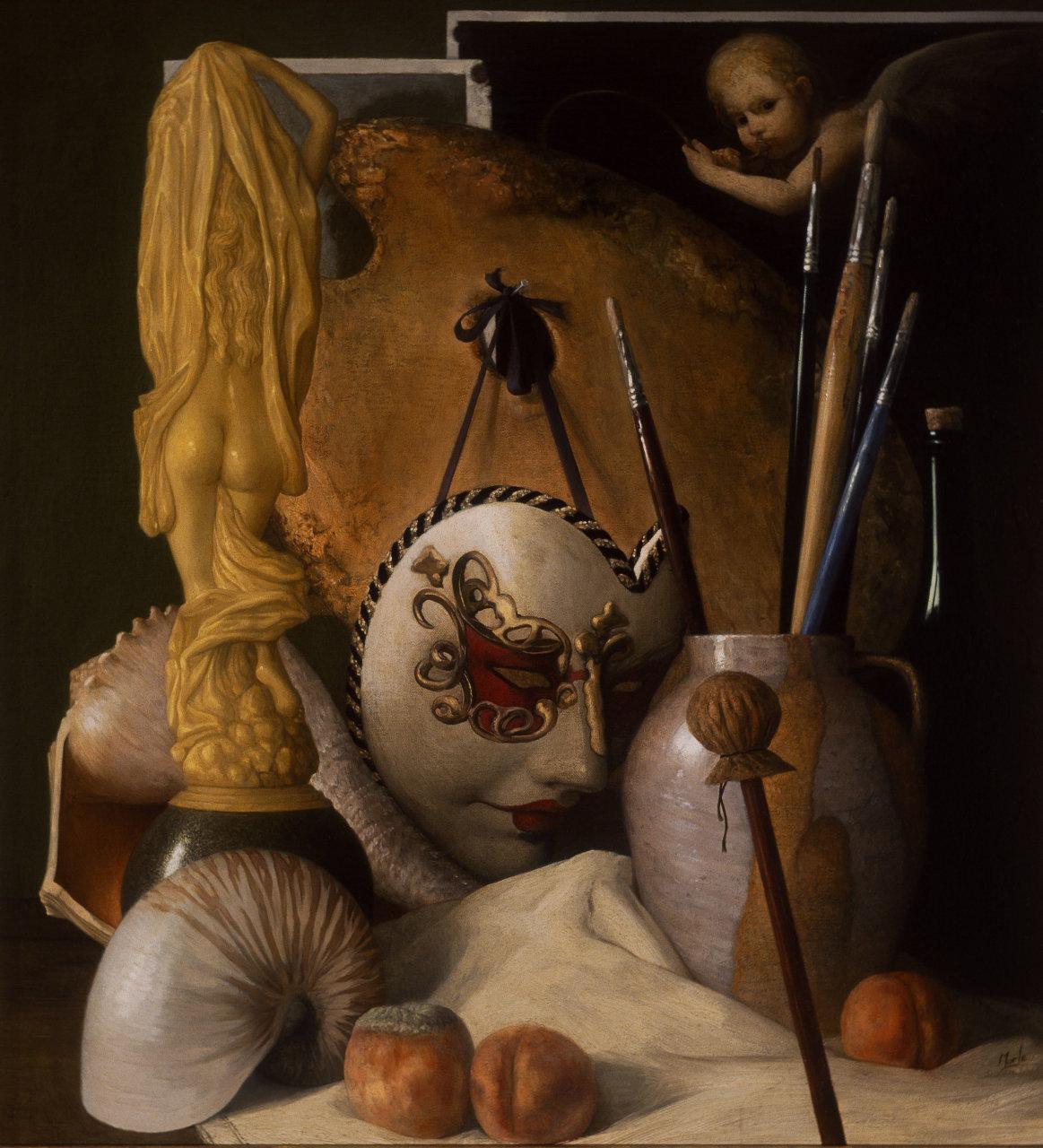 Все вещи обладают тайной... Английский художник Стюарт Морль