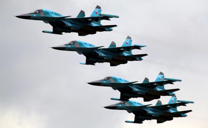 Грозная сила России: Десятки…