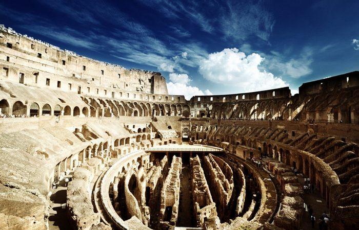 Колизей был заброшен до 18-го века.