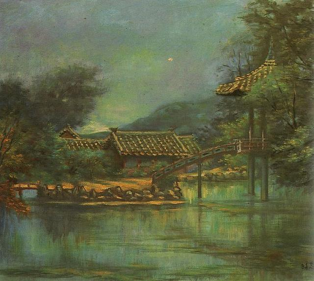 О свисте осеннего ветра... Корейский художник Byun Shi Ji (1926 - 2013)