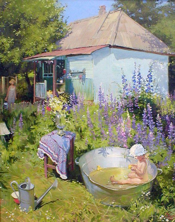 Я в избе, а значит дома... Украинская художница Яна Барабаш