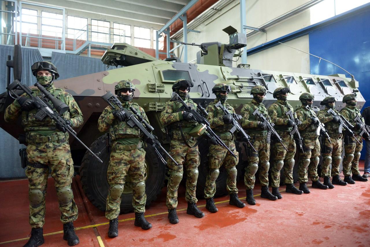 Новое сербское вооружение