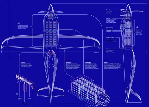 Британцы построят рекордно быстрый электрический самолет