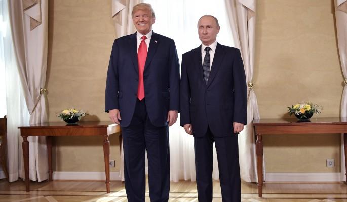 Встреча Путина и Трампа нача…