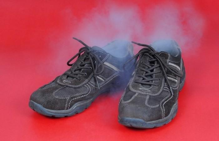 Простое средство от пахнущей обувив закладки