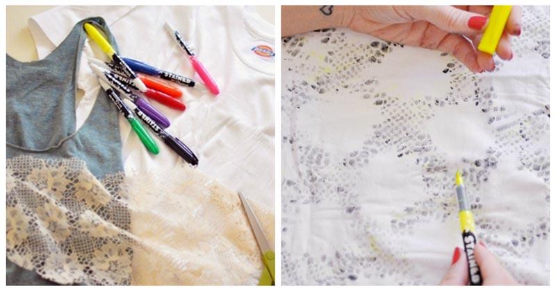 Трафарет вам в помощь: новая идея для обновления одежды
