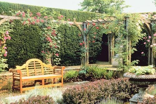 дизайн частного двора фото 5