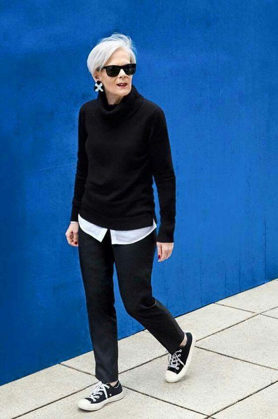 мода для тех кто старше примеры стрит стайл