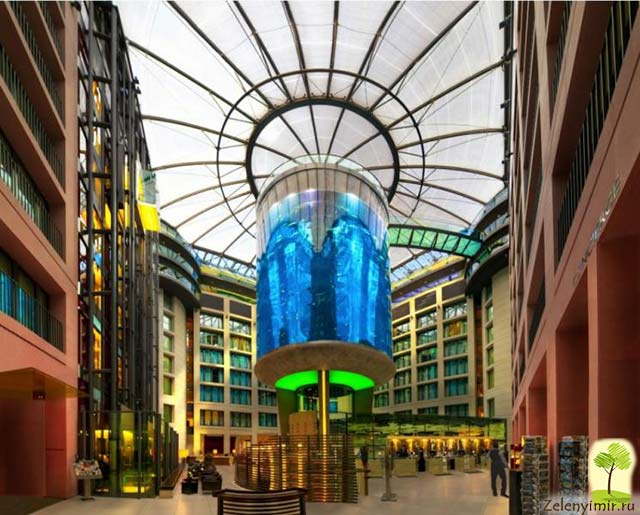 """Самый огромный аквариум в мире - """"Аквадом"""" в Берлине, Германия - 5"""
