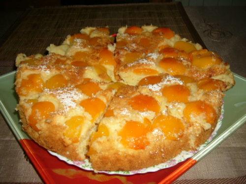 Вкусный пирог Абрикосовый рай...