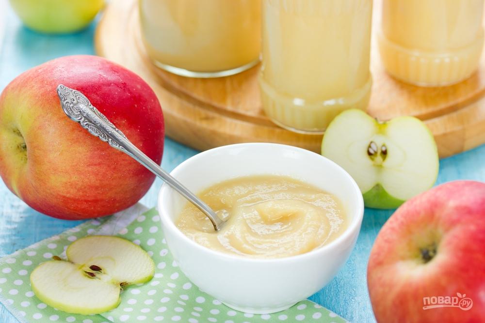 Яблочное пюре