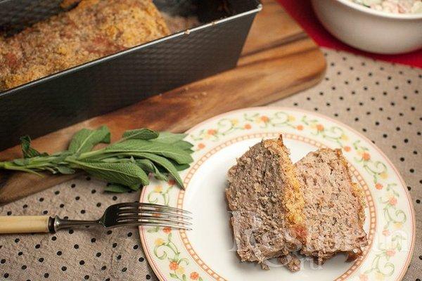 Мясной хлеб - аналог американского Meat Loaf