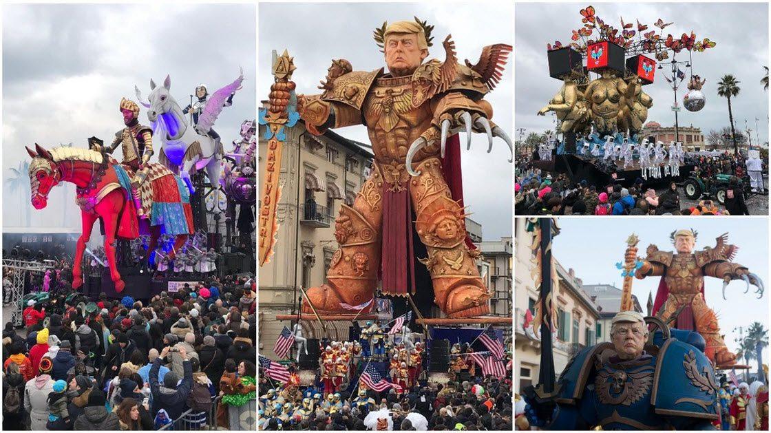 Карнавальое торжество в Итал…