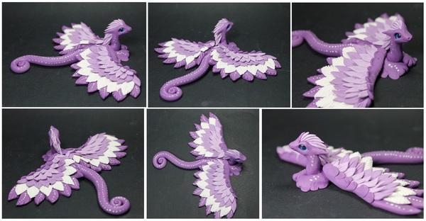 Снова драконята: полимерная глина