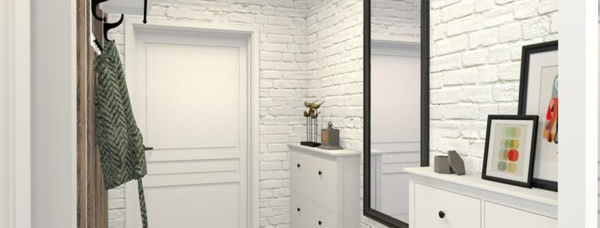 Светлая прихожая: идеи оформления небольших коридоров