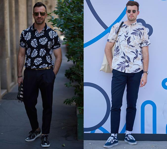 Главные тренды мужской уличной моды лето 2018