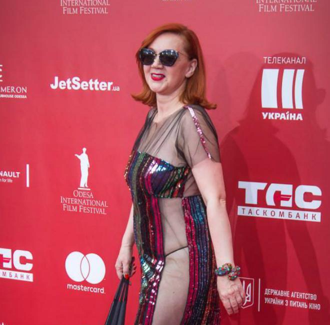 Безумные платья одесских звезд