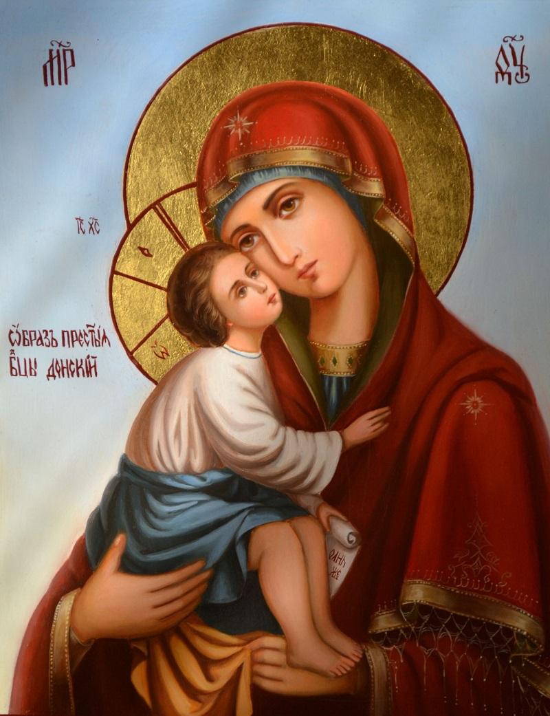 молитвы богородице о детях