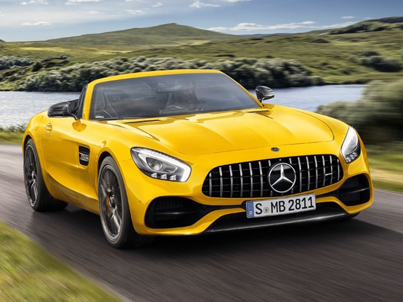 Mercedes представил новый родстер AMG GT S Roadster