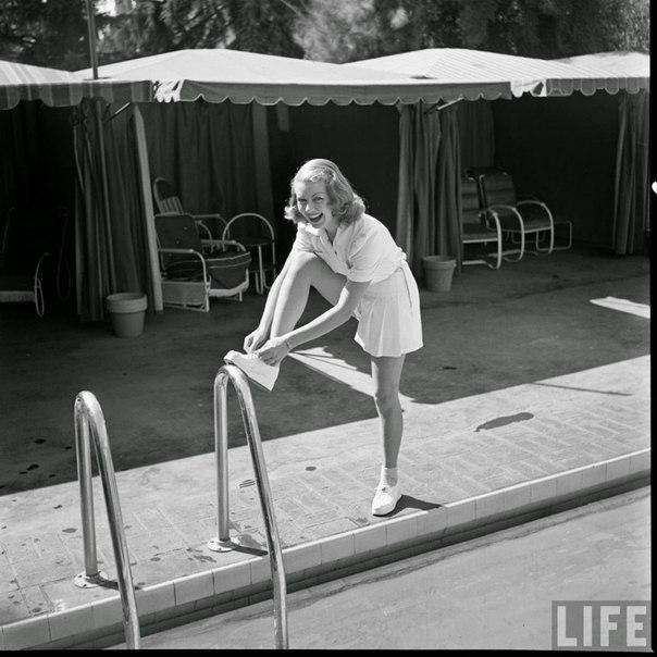 Лана Тернер в 40-х.