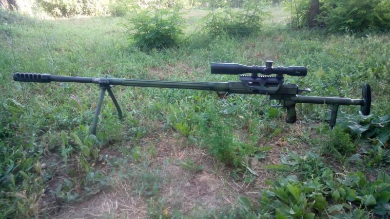 12,7-мм снайперская винтовка производства ДНР