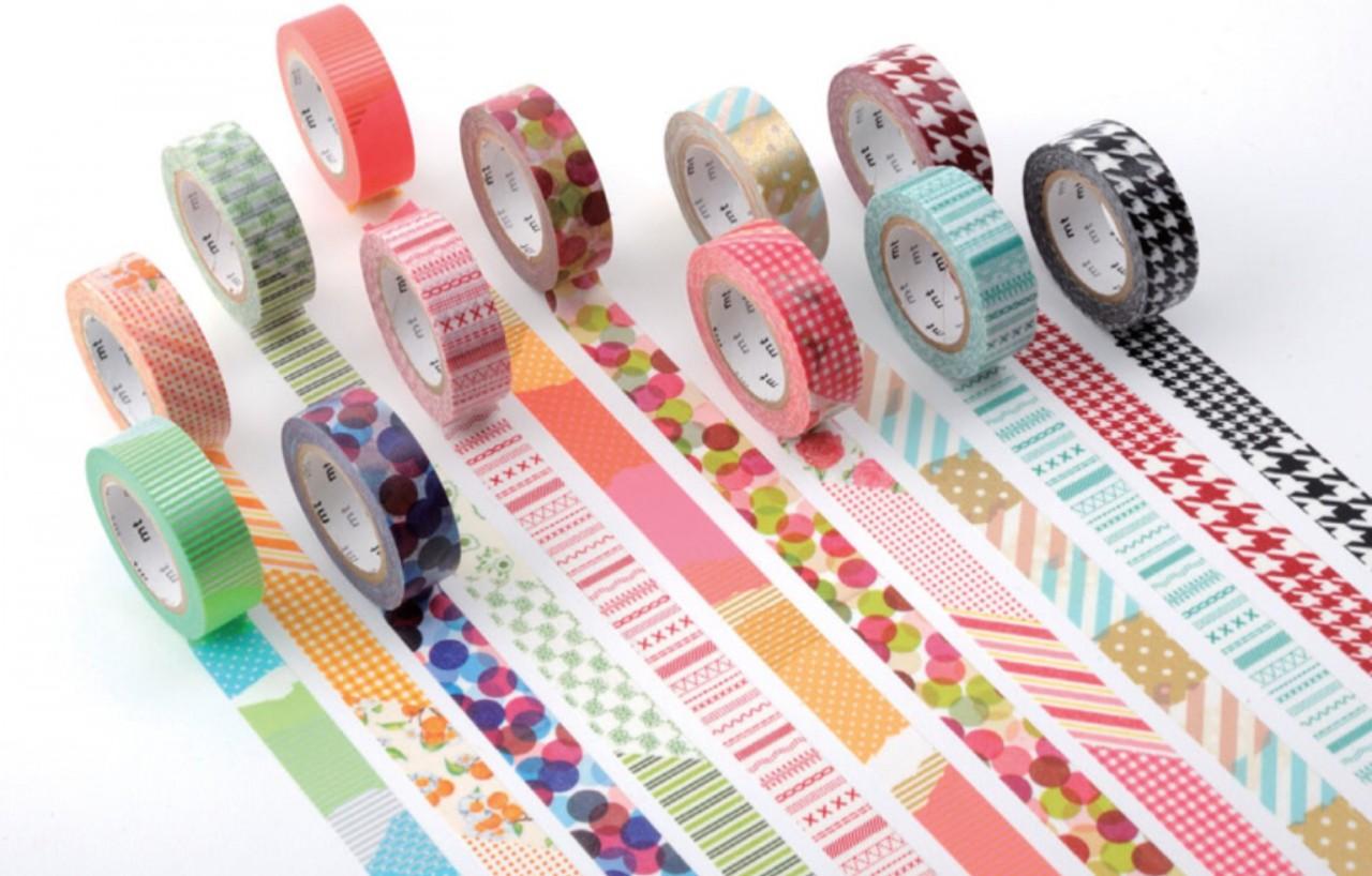 58 потрясающих идей декора с использованием цветного скотча