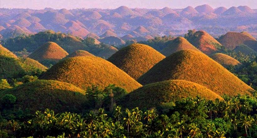 Как возникли Шоколадные холмы на Филиппинах