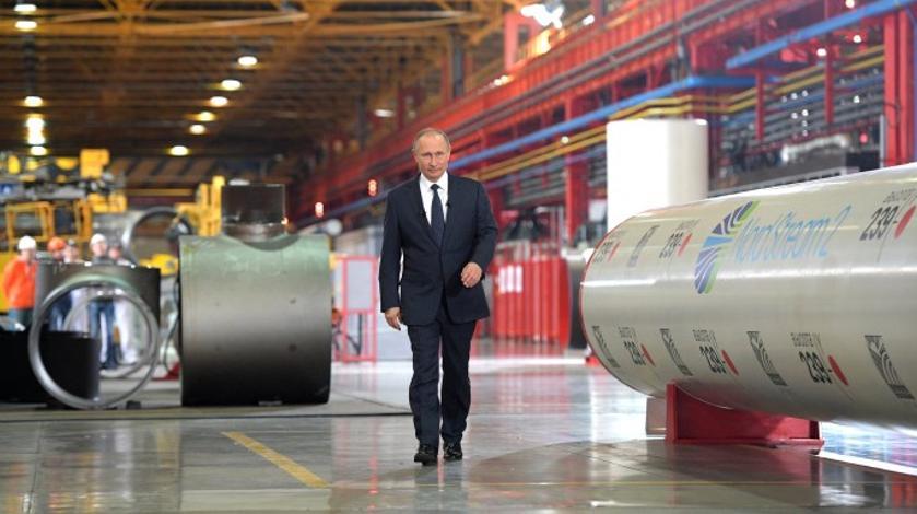 """На Болгарию посмотрите: Путин – о нападках на """"Северный поток – 2"""""""