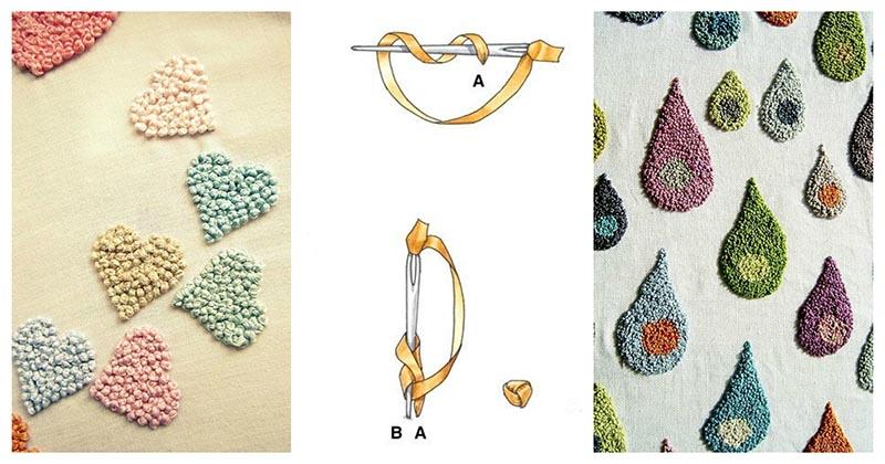 Симпатичные идеи, которые вам понравятся: узелковая вышивка на одежде и аксессуарах