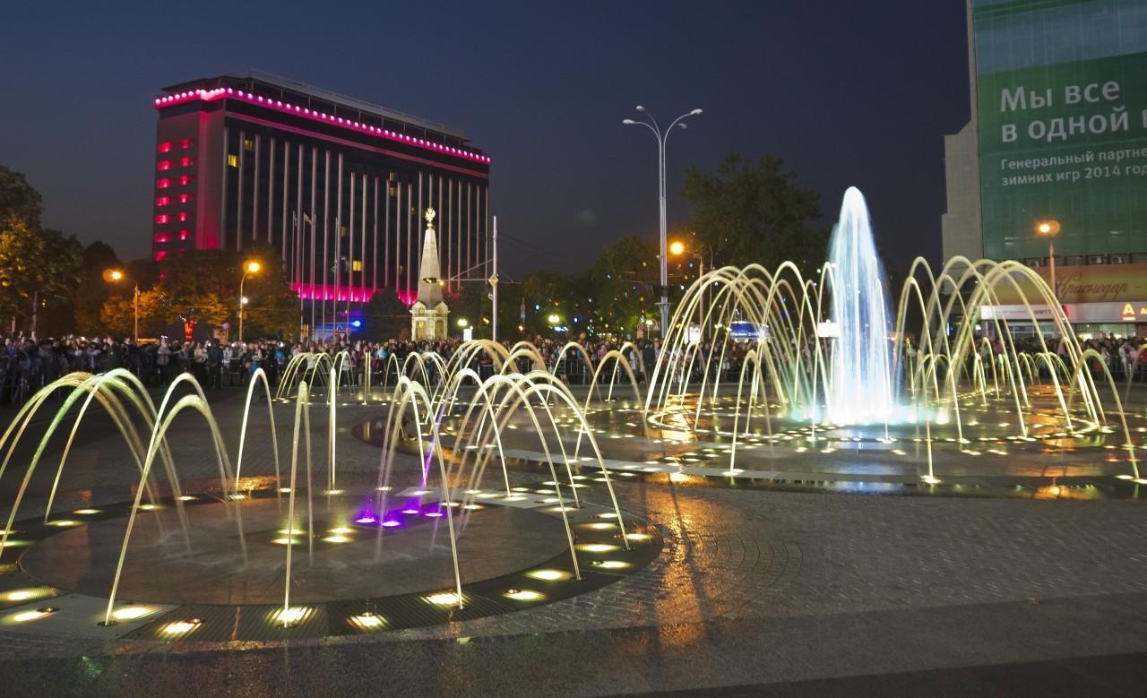 Афиша Дня города Краснодара на 21, 22, 23 сентября 2018
