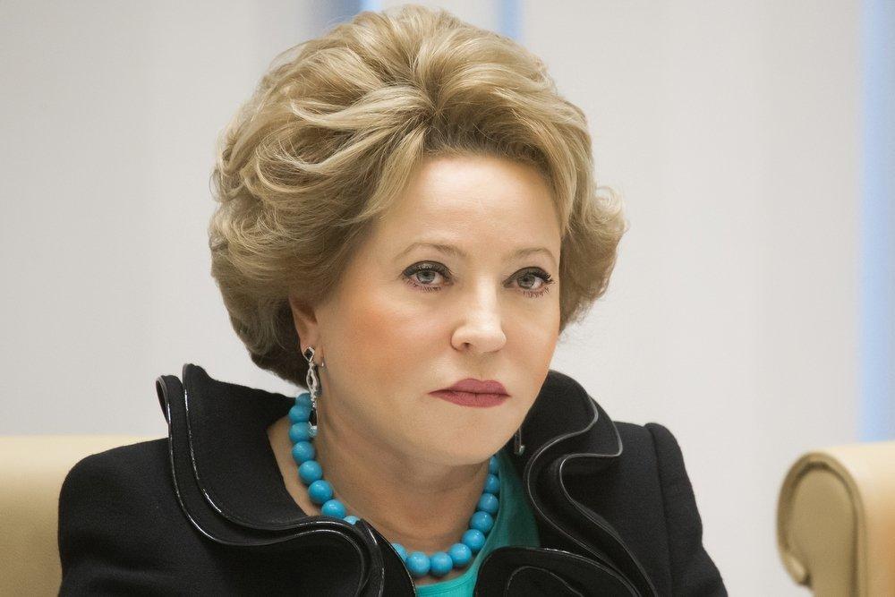 Матвиенко устроила разнос сенаторам-прогульщикам