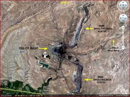 База Дульсе на карте