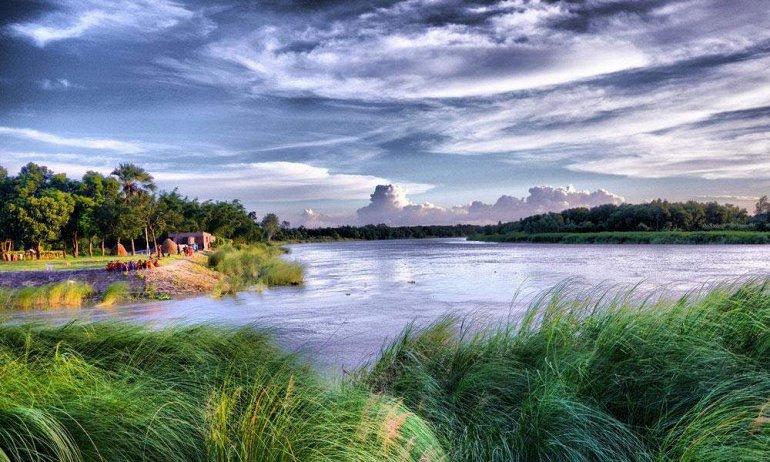 Живописное Озеро Бога в Бангладеш