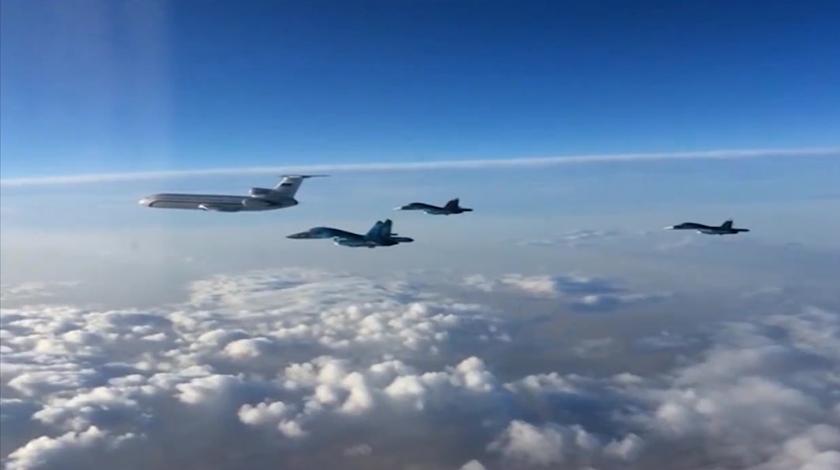 Россия начала крупнейшую за год бомбардировку в Сирии