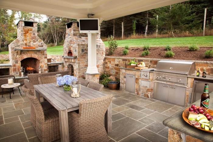 Идеи летней кухни на дачном участке