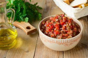 С помидорами и перцем. Рецепты заготовок из баклажанов