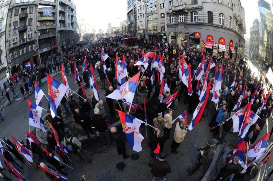 Визит в Белград