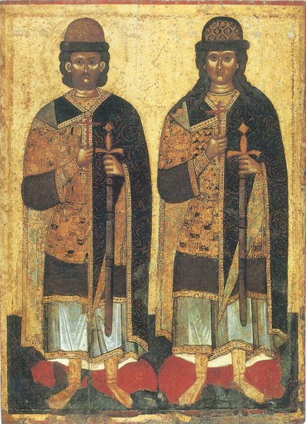 4 русских святых в Православ…