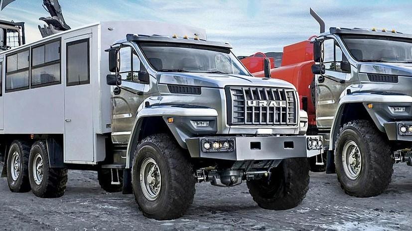 В России начали серийное производство автомобилей «Урал Next 6х4»