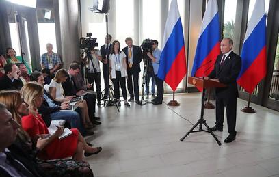 Песков рассказал о множественных контактах Путина и Трампа во Вьетнаме