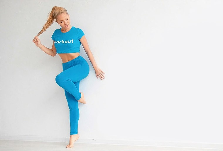 Тренировки для женщин. Упражнения балерин для стройных ног